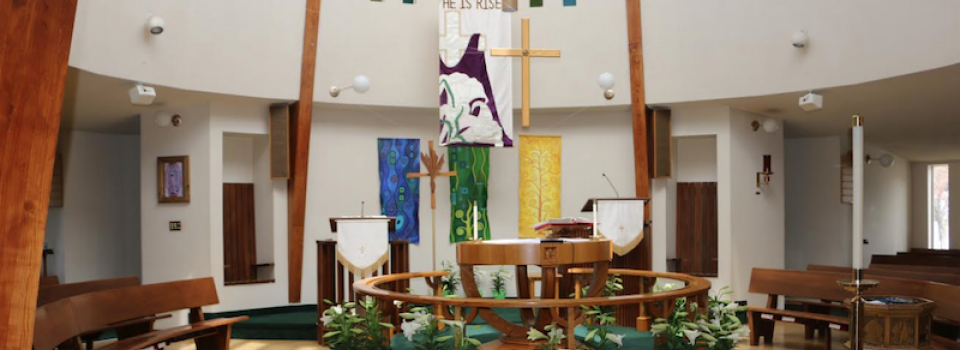 Easter Welcome in the Sanctuary