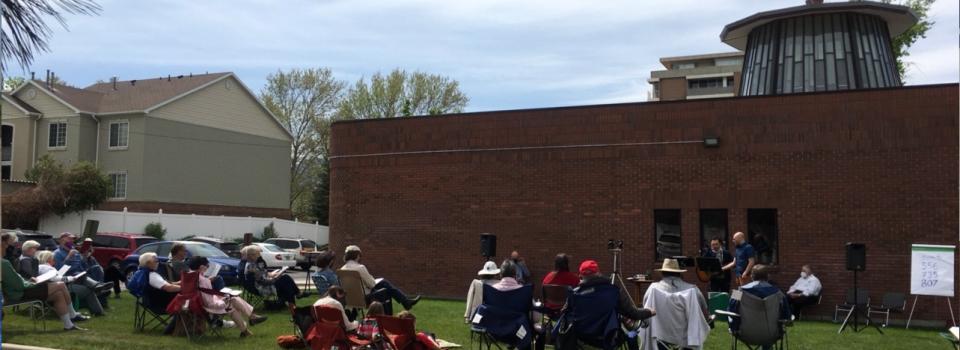 Outdoor Worship May 9